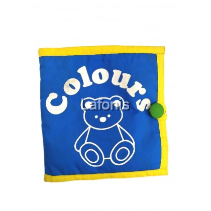 Baby Fabric Book Colours