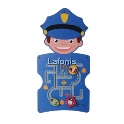 Occupation Wall Game Police(33*3*57cm)