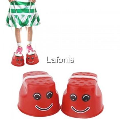 Walking Stilts Red (9.5*9.5*6.5cm)
