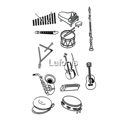 Chop Musical Instruments( 8*10*15cm)