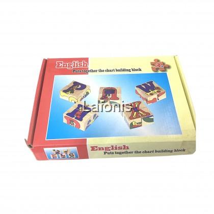 Chart Building Blocks( 4*21*15 cm)