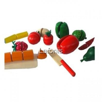 Wooden Cutting Fruits (20*20*20cm)