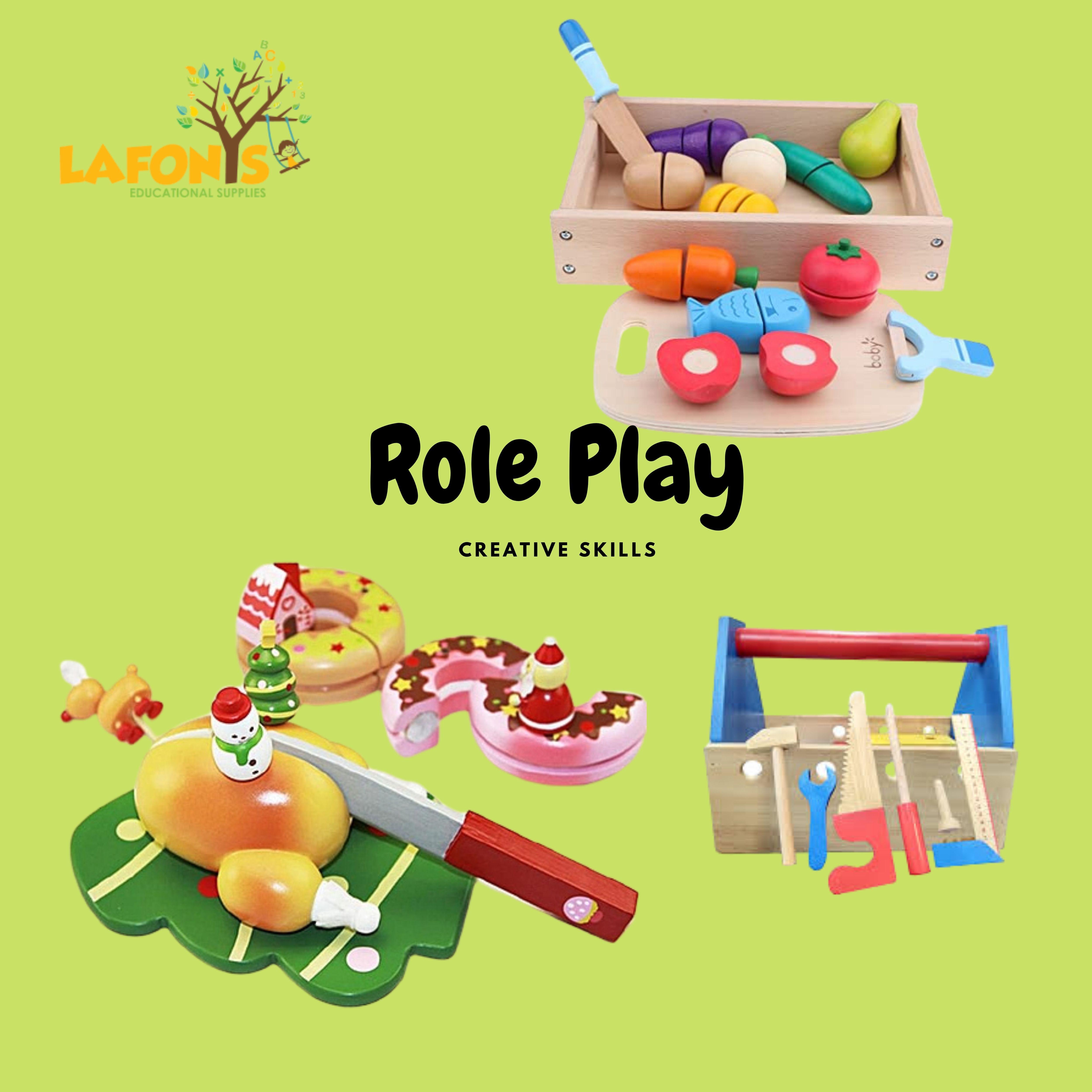 wooden Role Play